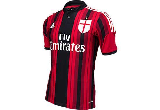 adidas Youth AC Milan Home Jersey 2014-2015.. Minat c2a8d5836e15f