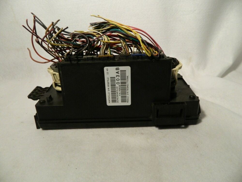2008 09 Dodge Ram P68028003ab Totally Integrated Power Module Fuse Box Oem Dodge Dodge Ram Fuse Box Dodge