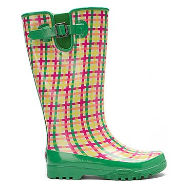 Women's Sperry Top-Sider Pelican Lug Tall Boot Coral/Green Plaid. Lots of