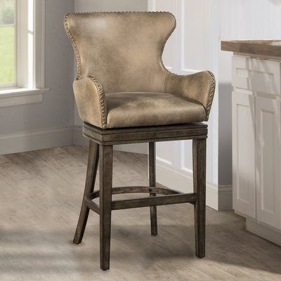 West Hollywood Bar & Counter Swivel Stool in 2019 Swivel