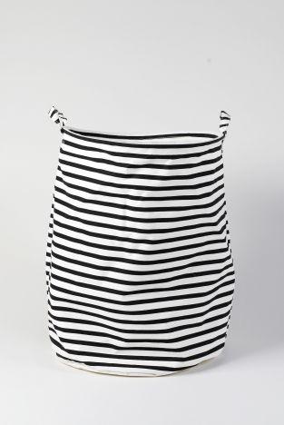 Wäschekorb Vintage lys vintage wäschekorb stripes schwarz groß shop wäschesack
