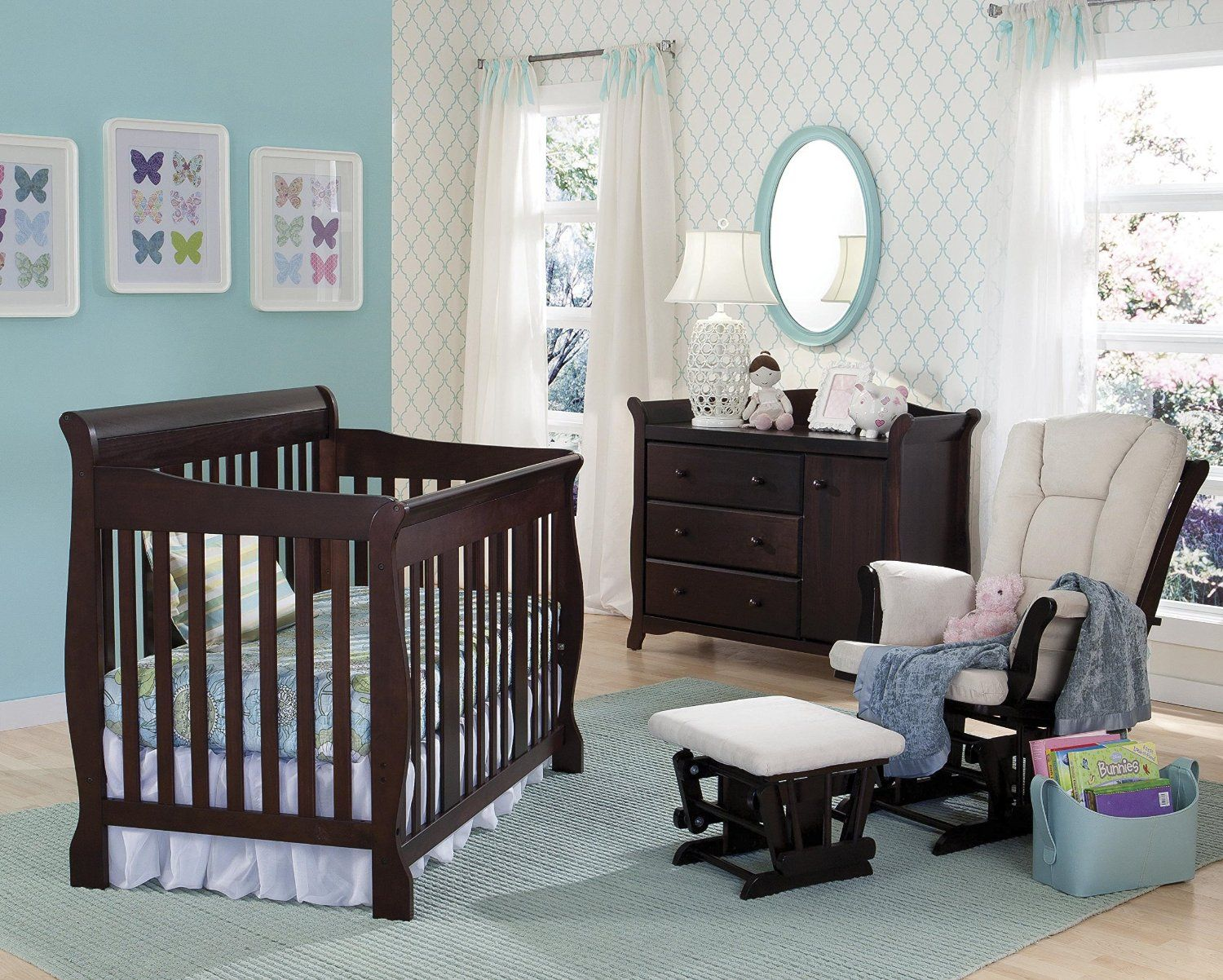 The Stork Craft Tuscany 4 In 1 Convertible Crib Handles Most Tasks You Throw
