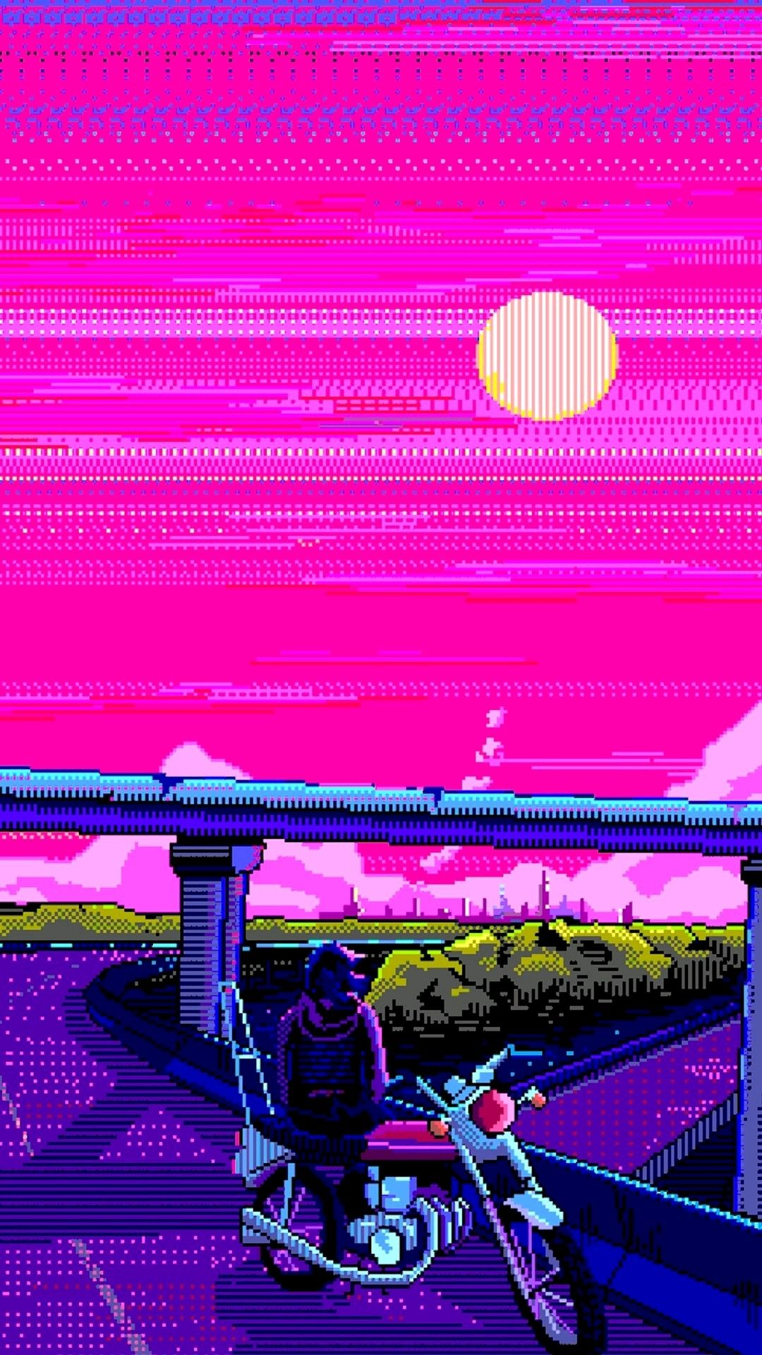Pin by Gary Ellis on Aesthetic Pixel art background