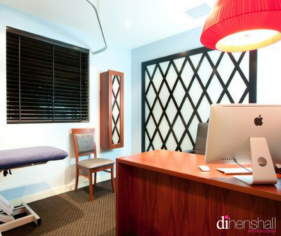 Noosa Medical Centre practice room with bold feature lighting