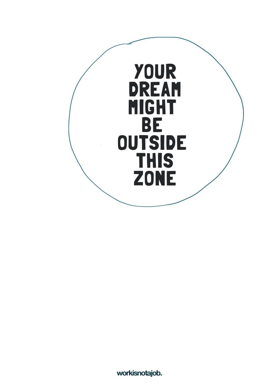 No More Comfort Zone Or Think Outside The Box Um I Mean Circle