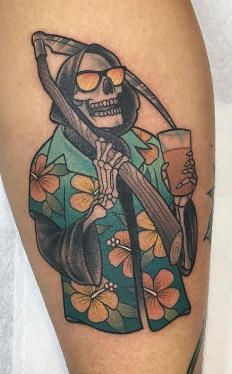 110 Unique Grim Reaper Tattoos You'll Need to See – Tattoo Me Now