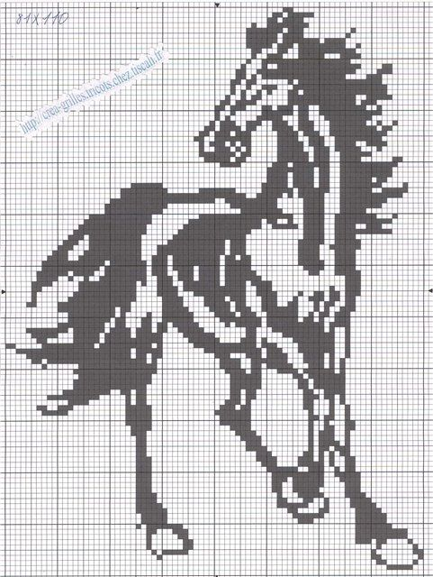 ROZETKA   Набор для вышивки бисером Фурор Рукоделия Бегущие лошади ...   640x481