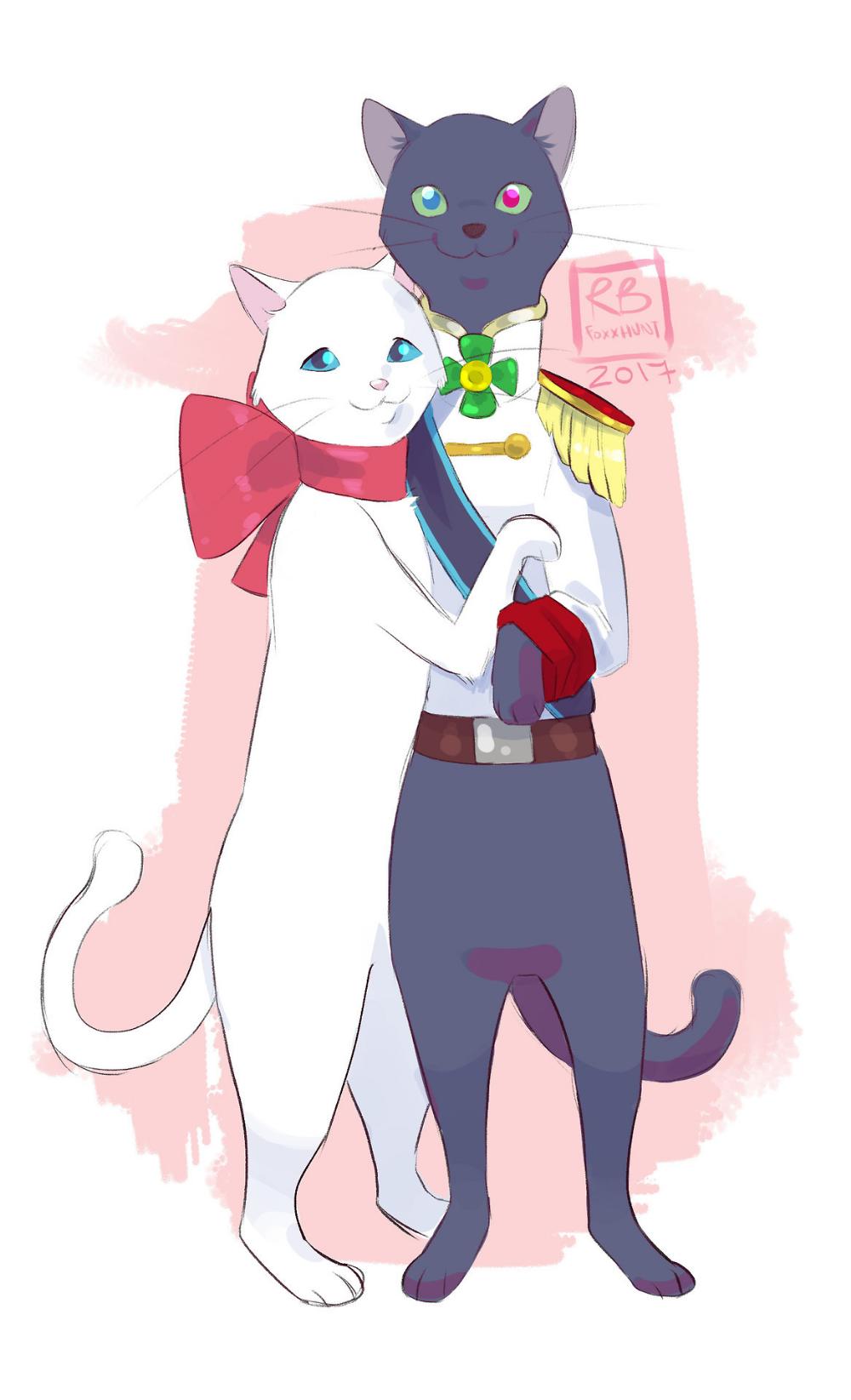 studio ghibli fanart Tumblr Le royaume des chats