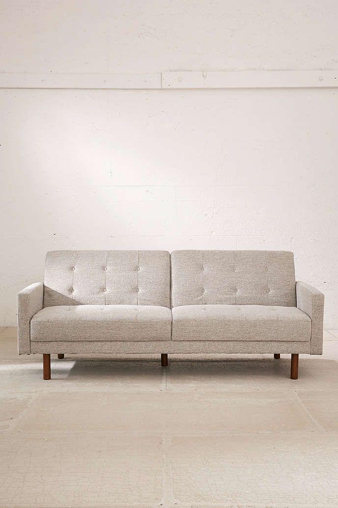 Berwick Mid-Century Sleeper Sofa | Sleeper sofas, Mid century and Spaces