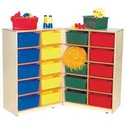 Wood Designs Folding Storage 20 Cubby Unit 16209 Wdd Cubby Storage Classroom Storage Wood Design