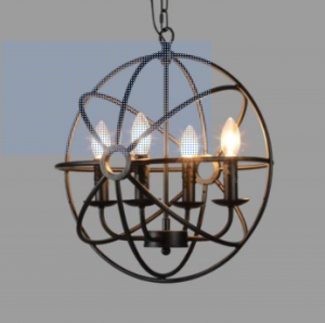 Make A Bold Statement With Farmhouse Lighting Design Dazzle Industrial Ceiling Lights Orb Chandelier Farmhouse Style Lighting