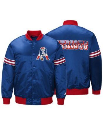 4085559f G-iii Sports Men's New England Patriots Draft Pick Starter Satin ...