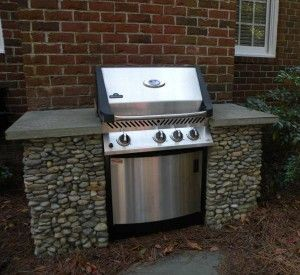 BBQ Grill Enclosure   Dream Deck   Outdoor grill station ...
