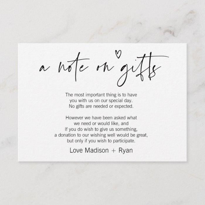 Modern Wedding Ceremony Songs: Cute Modern Wishing Well Wedding Invitation Card 10 Cards