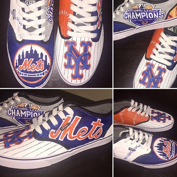 New York Mets Handmade Shoes, New York