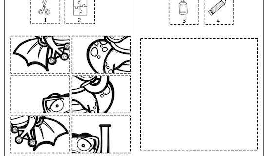 sommerkalender puzzle1 wahrnehmung aufmerksamkeit feinmotorik legasthenie dyskalkulie. Black Bedroom Furniture Sets. Home Design Ideas