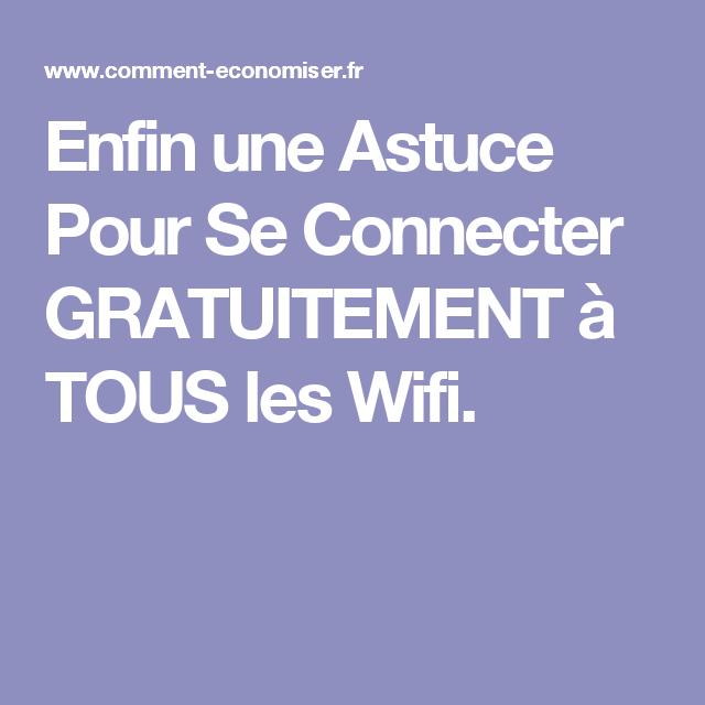 Comment Avoir Un Compte Free Wifi