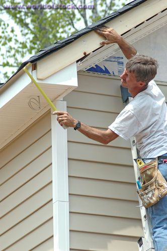 James Hardie Instructions Siding Installation Lowes Com Videos Installing Posts And Panels Vinyl Fence Installat Vinyl Siding Installing Siding Siding Repair