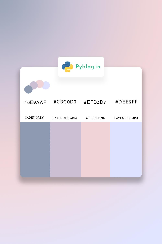Best Colour Pallets For Your Next Project Website Color Palette