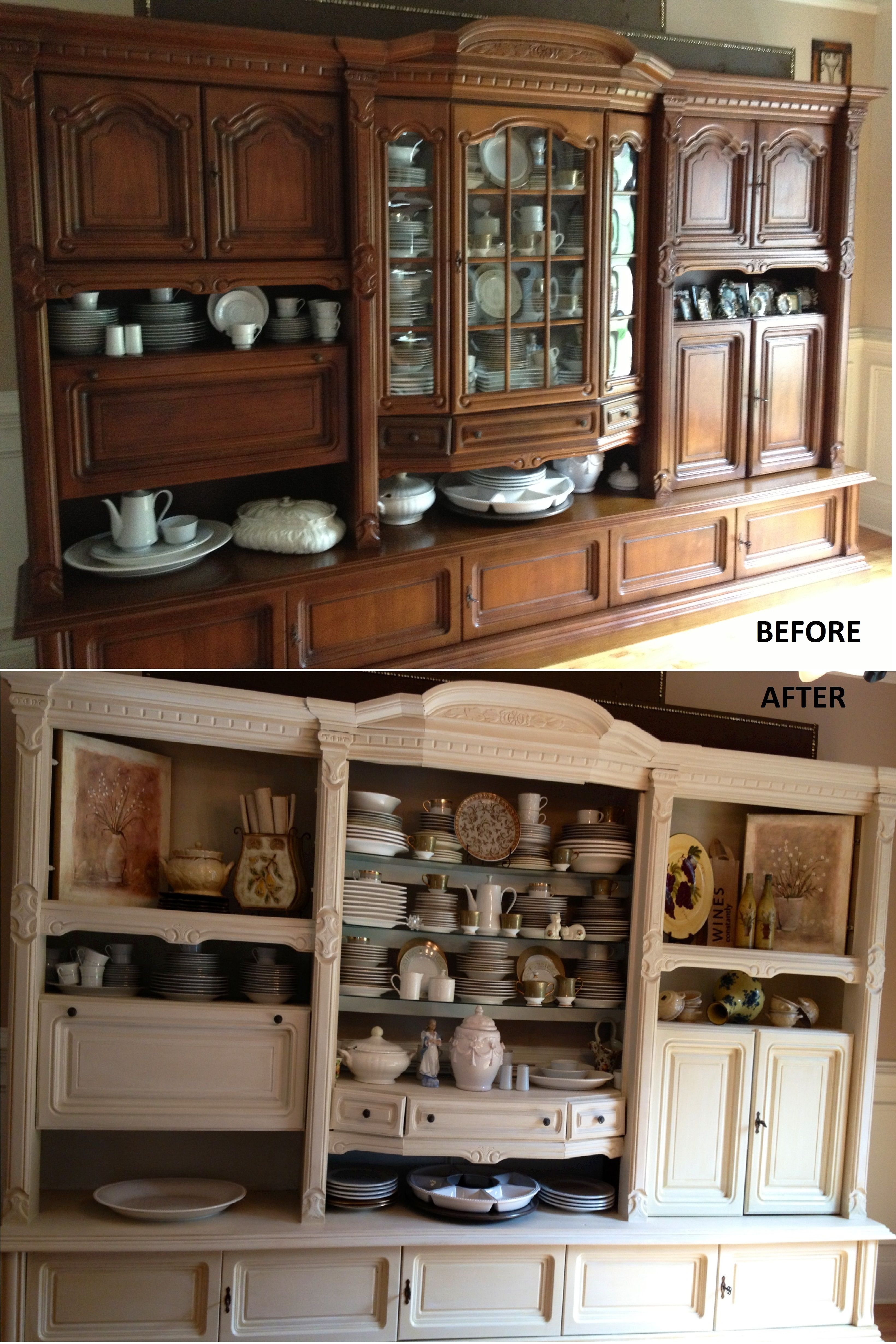 Antique German Shrunk Re-Design! From Traditional to Shabby | Josh ...