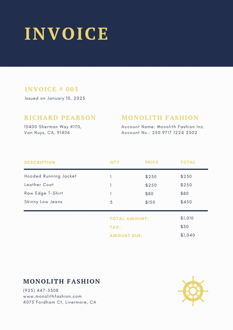 Invoice Design 50 Examples To Inspire You Learn Invoice Design Invoice Template Logo Design Feminine
