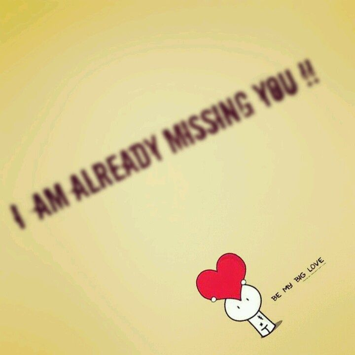 Miss You Already Quotes Simple Missed You Tonight  Miss You Always. Affairs Of The Heart