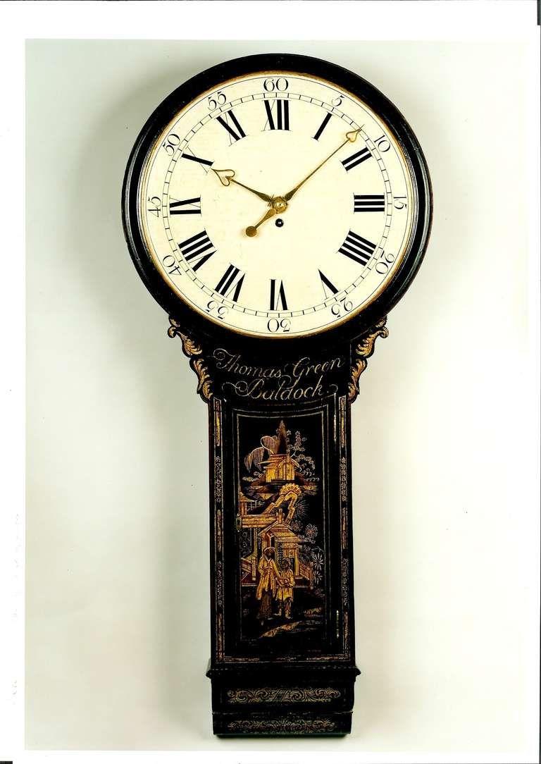 Tavern Clock By Thomas Green 1stdibs Com Antique Wall Clocks Antiques Clock