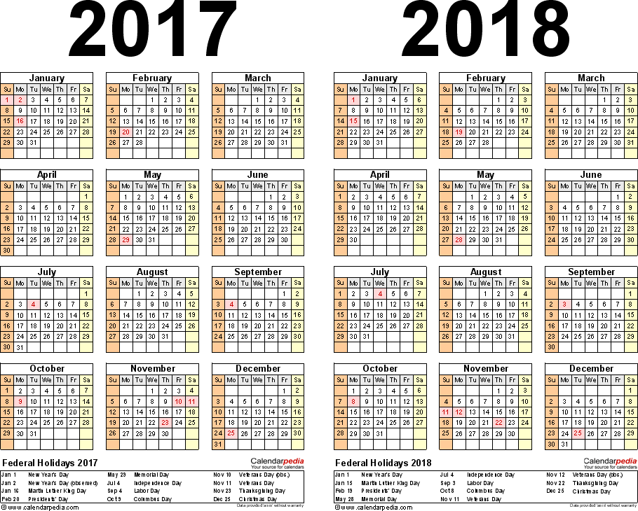 Fiscal Year 2017 Calendar 187 Calendar Template 2018 News To Go 3