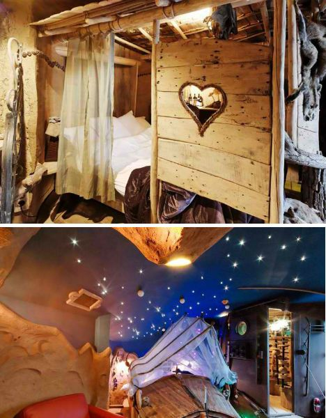 Bizarre Hotel That Is Shaped Like The Trojan Horse La Balade Des - Bizarre themed rooms