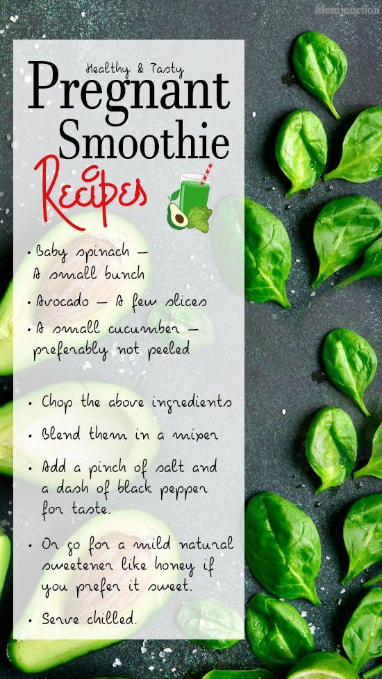 5 gesunde und leckere Smoothie-Rezepte für schwangere Frauen   – Baby Ramp