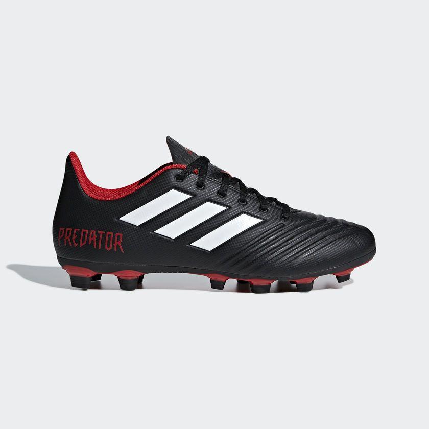 25b5ecb3d adidas Predator 18.4 Flexible Ground Boots - Black   adidas Malaysia