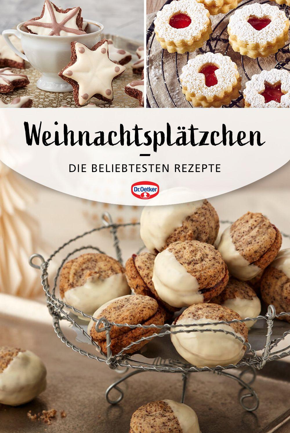 Weihnachtsplatzchen Rezept Zum Fest Rezepte Oetker Rezepte Rezept Kekse
