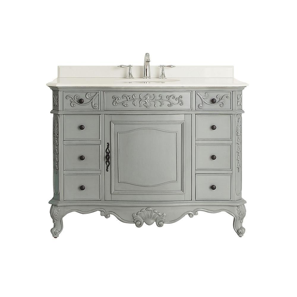 Home Decorators Collection Winslow 45 In W X 22 In D Vanity In