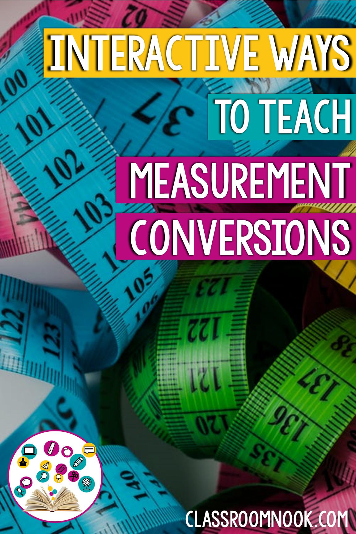 Measurement Conversions Metric Amp Customary