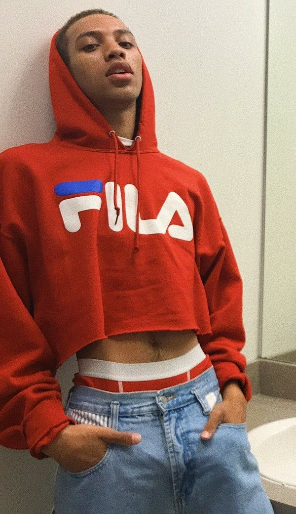 7fef0af209bac8 male crop top hoodie