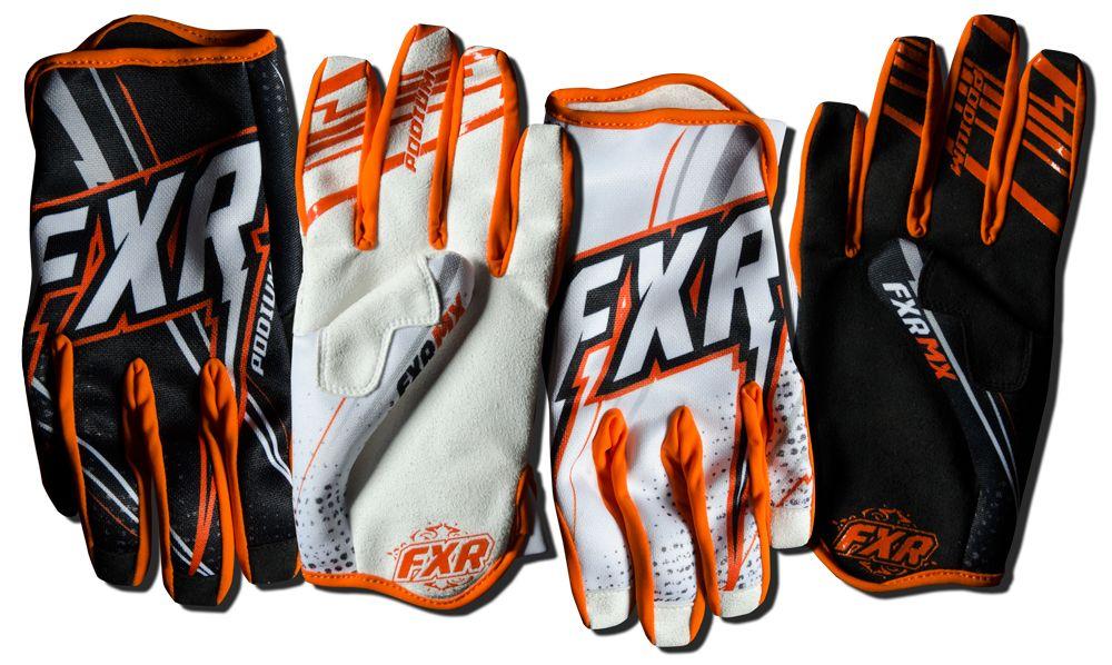 FXR Racing Dirtbike MX Gear Mission MX Glove Black