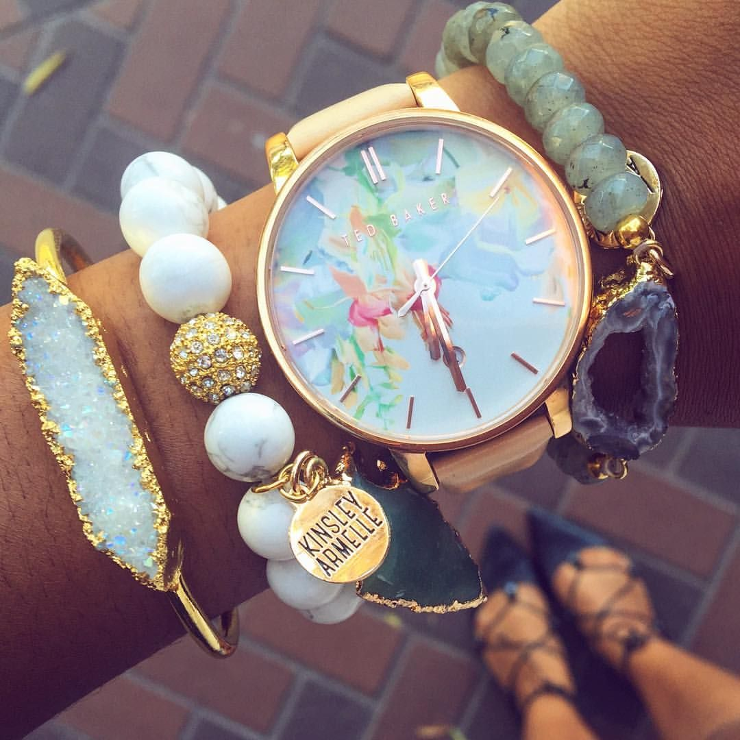 In love with my new Kinsley Armelle bracelet stack