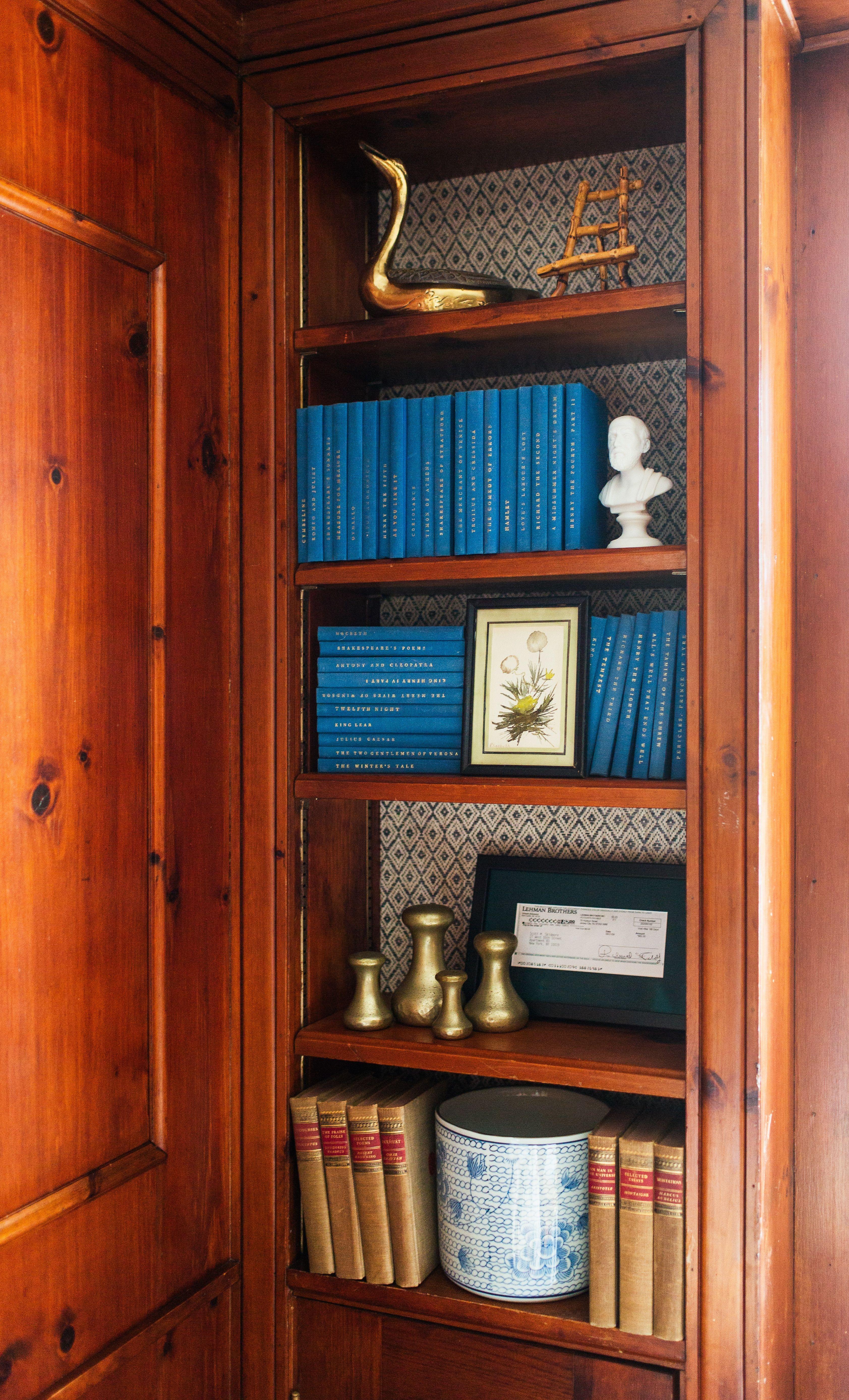 Wood Paneled Library: Library // Bookshelf // Wood Paneled Walls // Project