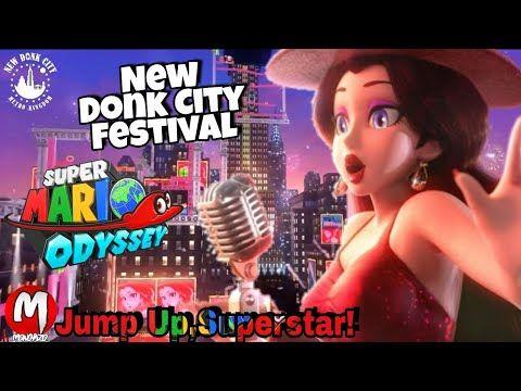 Jump Up Superstar New Donk City Festival Super Mario Odyssey Videoclip Super Mario Odyssey Mario Odyssey Super Mario