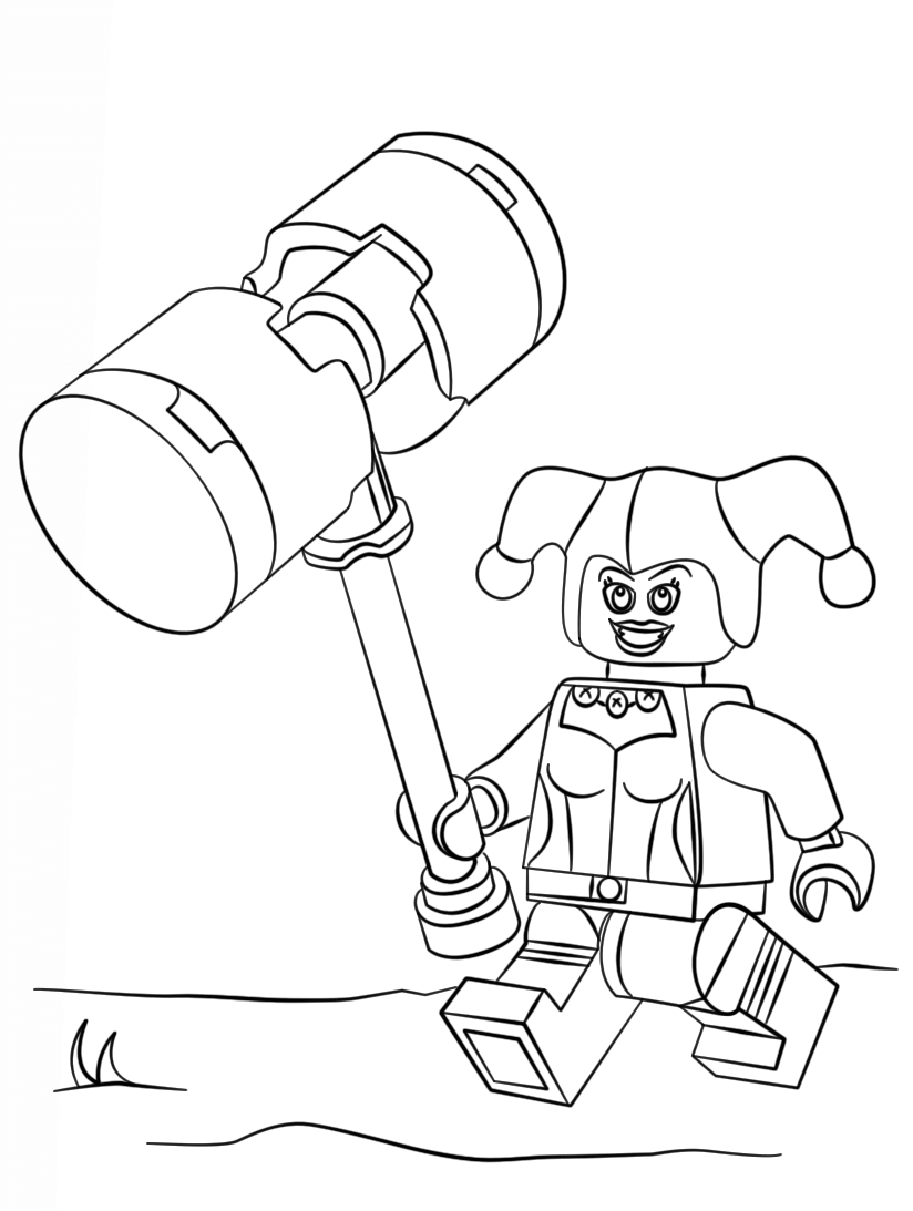 The Lego Batman Movie Coloring Pages Lego batman, Lego