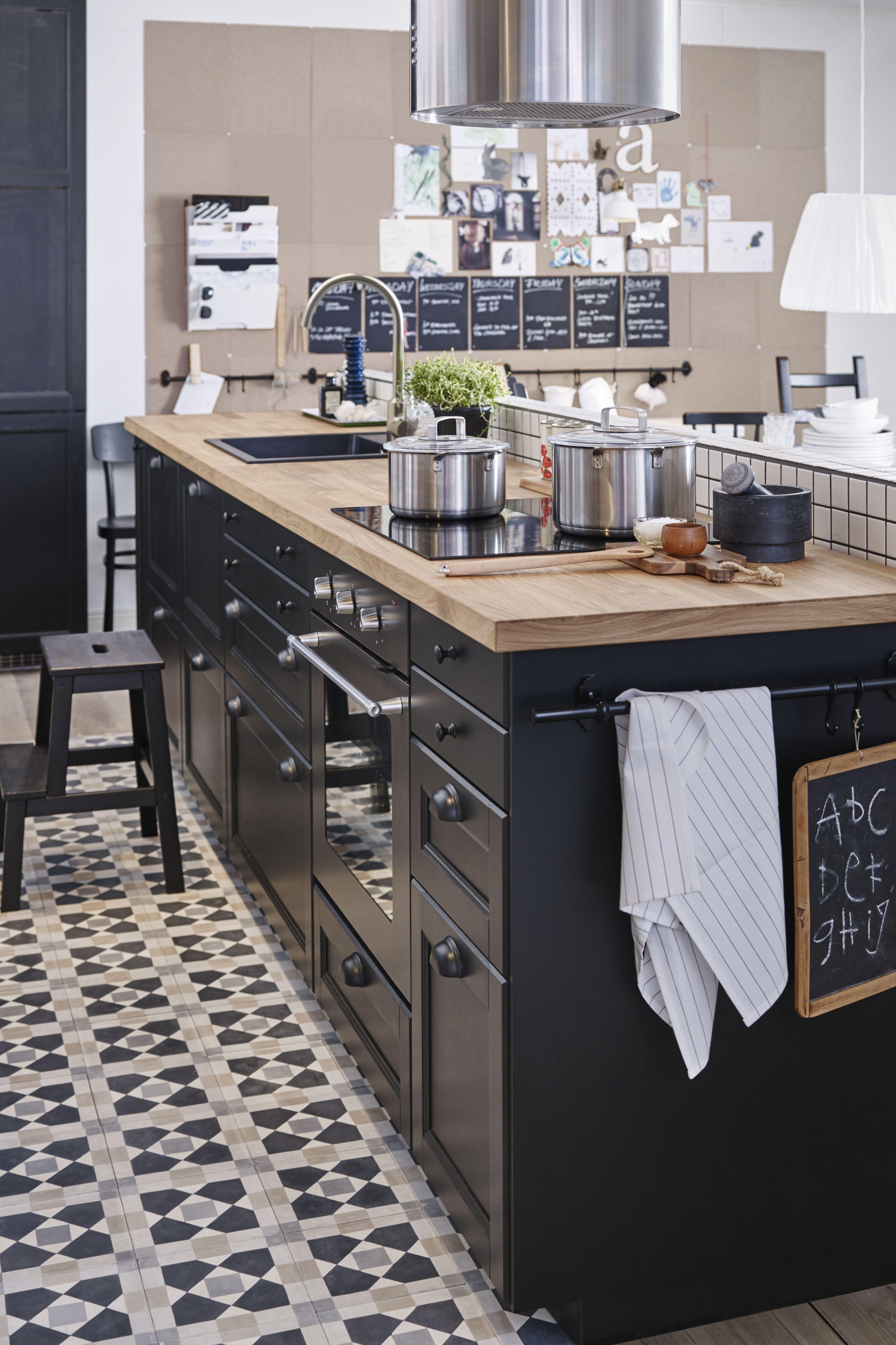 Cuisine Metod Laxarby d\'IKEA : Des cuisines modernes d\'exception ...