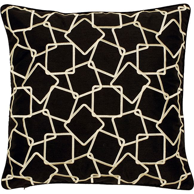 This Geometric Down Decorative Pillow Is A Stunning Addition To Gorgeous Down Decor Pillows