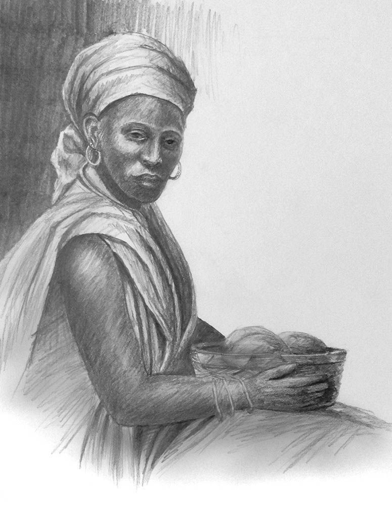 African woman drawings paintings google search