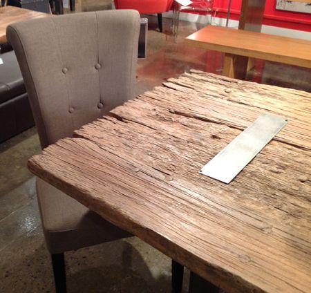 Ordinaire Reclaimed Wood Table