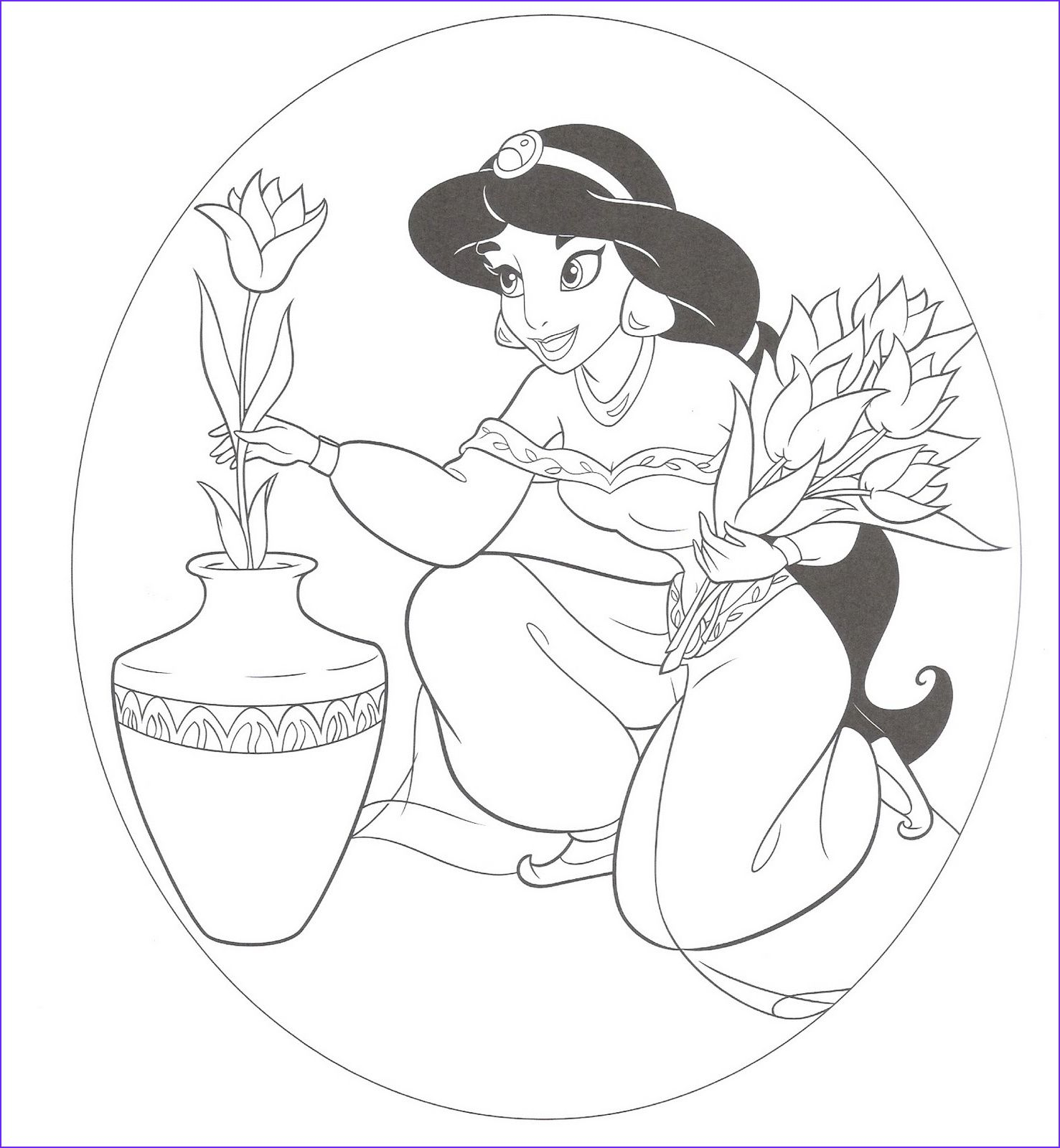 Disney Princess Coloring Pages For Kids Disney Princess Colors Disney Princess Coloring Pages Princess Coloring