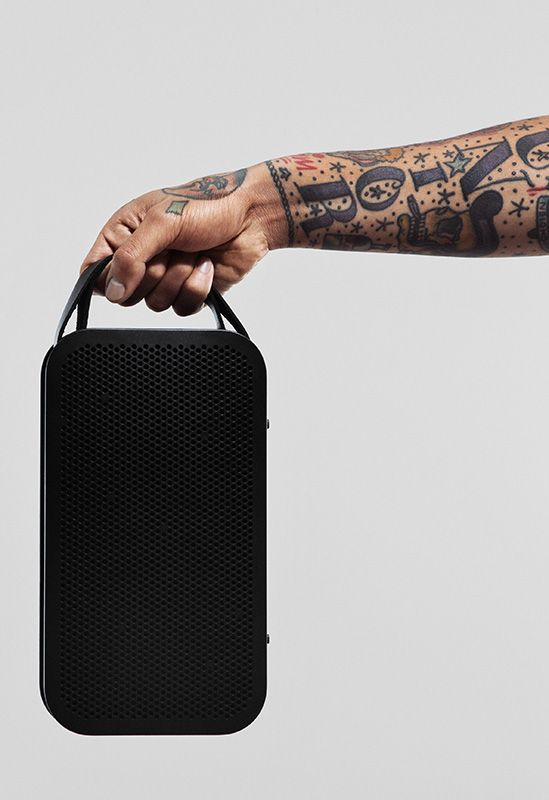 Meet BeoPlay A2 a powerful, ultra portable Bluetooth speaker with 360 degrees of ground breaking sound - and an unprecedented 24 hours of battery life.