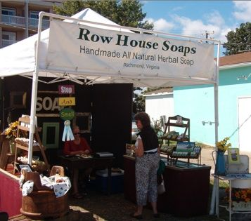 Boardwalk Arts & Crafts Festival, each September in Colonial Beach. Tons of vendors all over the Boardwalk and on Town Hill.  http://www.colonial-beach-virginia-attractions.com/boardwalk-arts-and-crafts-festival.html