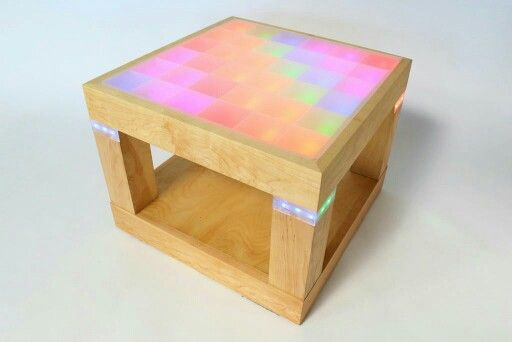Light-Up Disco Table