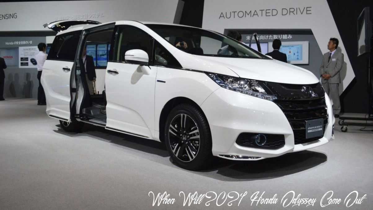 When Will 2021 Honda Odyssey Come Out Price And Review In 2020 Honda Odyssey Honda Prelude Honda