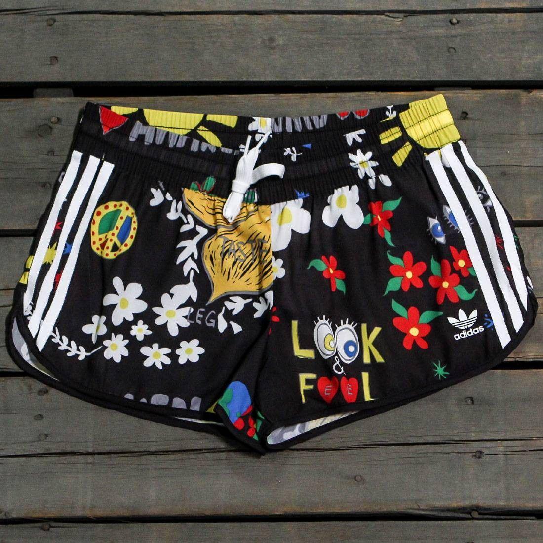 Adidas x Pharrell Williams Women Artist Running Shorts (black)  c0e2cfd0f